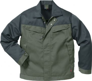 Fristads Icon Jacket 4857 Luxe 109321 (Light Army Green/Army Green)